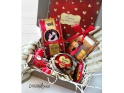 Подарочный набор «Сладкий поцелуй», , 43.00 руб., pn008, , подарки на 14 февраля