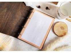 """Ежедневник в деревянной обложке """"One of a kind"""""""