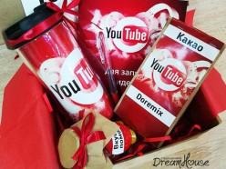 Подарочный набор «YouTube», , 49.00 руб., pn03, , Подарки для детей