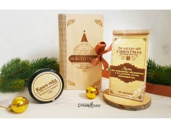 """Новогодняя """"Книга-шкатулка"""" из дерева, , 32.00 руб., pn129, , Подарки на Новый Год"""