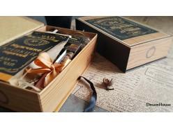 """Подарочная книга-коробка  """"Мужской подарок"""""""