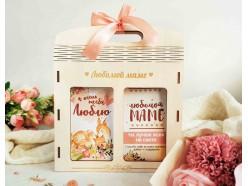 """Подарочный набор в деревянной сумочке """"Маме"""", , 27.00 руб., pn336, , Подарки для мамы"""