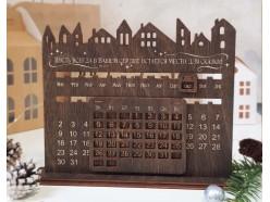 """Вечный календарь из дерева  """"Сказка"""", , 20.00 руб., pn343, , Подарки на Новый Год"""