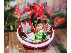 """Подарочный набор """"Корзинка от Деда Мороза"""", , 40.00 руб., pn134, , Подарки на Новый Год"""