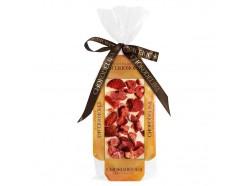 Шоколад белый узорный с украшением клубника, , 8.00 руб., CHOKOD6017, , Вкусные и полезные сладости