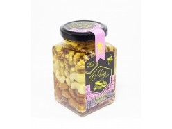 Акациевый мёд с ореховым ассорти