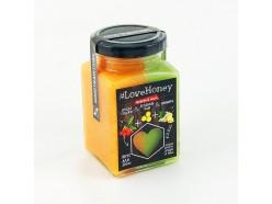 Медовый мусс: Ягода годжи зелений чай и имбирь
